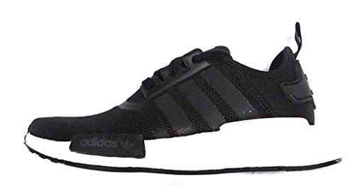 adidas NMD_R1 J ''Black/White'' S80206 (3.5 M US Big Kid)