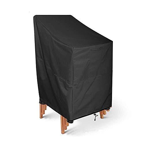XLLH-YY Staubschutz für Gartenmöbel, 210D Oxford-Gewebe, wasserdicht, Staubschutz für den Garten, UV-Schutz, 120 x 66 x 73 x 84 cm