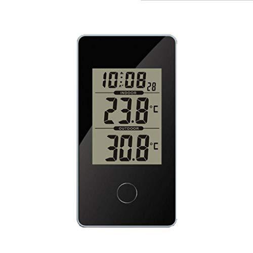 King Boutiques Weather Clock Multifunktions-Digital-LCD-Wecker-Thermometer Elektronisches Thermometer Für Zu Hause Wetterstation Mit Hintergrundbeleuchtung Haushaltsgegenstände
