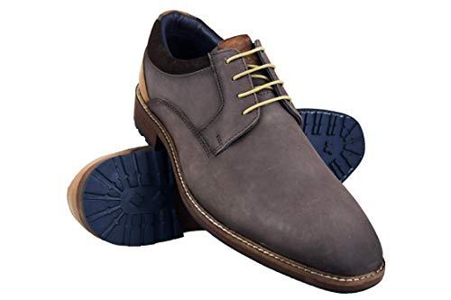 Zerimar Schuhe Mann Kleid | Schuhe Klassisch Herren Leder | Casual Lederschuhe Herren | Herren Schuhe Business (Braun-oxford-kleid-schuhe Männer)