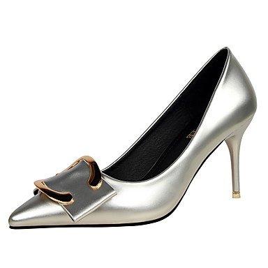 Moda Donna Sandali Sexy donna tacchi Primavera / Estate / Autunno / Inverno Comfort / Punta / punta chiusa Casual Stiletto Heel fibbia Purple