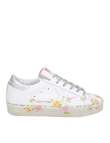 premium selection 95b32 8b513 Golden Goose Sneakers Donna G34ws945b7 Pelle Bianco