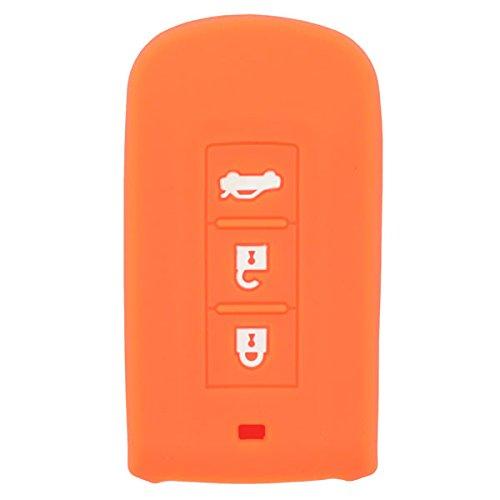 fassport Silikon Cover Skin Jacke für Mitsubishi Smart-Fernbedienung Schlüssel cv2520
