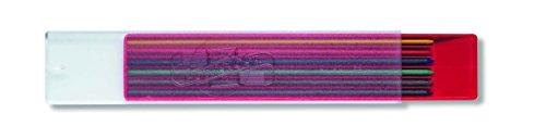 Koh-I-Noor Graphitminen für Druckbleistift, 2mm Durchmesser, 120mm–Farben sortiert (6er-Set)