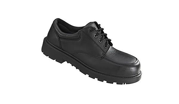 Vixen VX550 Diamond S1P Ladies Black Slip On Steel Toe Cap Wedge Safety Shoes