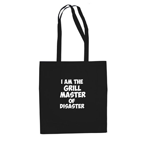 I Beutel am Schwarz Disaster Grill the Master Stofftasche of gSr7g