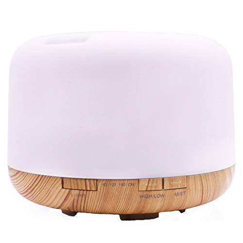 Dtuta Luftbefeuchter Ultraschall,Luftverdunster,Luftvernebler,Hochwertiger FarbzerstäUber, Aromatherapiemaschine, Langanhaltende Feuchtigkeitspflege, Einfache Bedienung