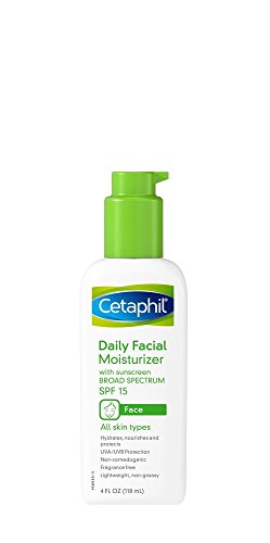 Cetaphil Fragrance Free Daily Facial Moisturizer, SPF 15, 4-Ounce Bottles (Pack of 2) by Cetaphil BEAUTY (English Manual)