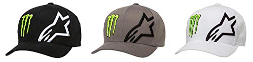 Alpinestars Monster Corp Hat, Gr. L/XL, Schwarz (Hat Flex Monster)