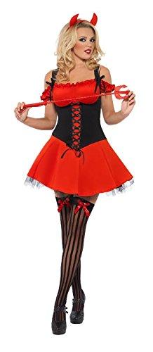 SMIFFYS, SEXY KOSTÃœM (Frauen Kostüme Halloween Teufel)