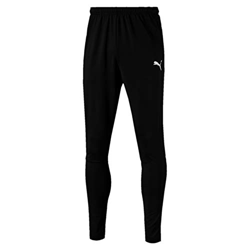 PUMA Herren Liga Training Pants Pro Jogginghose, Black White, M -