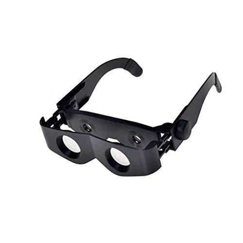 Gafas, lupa gran aumento, telescopio pesca ajustable