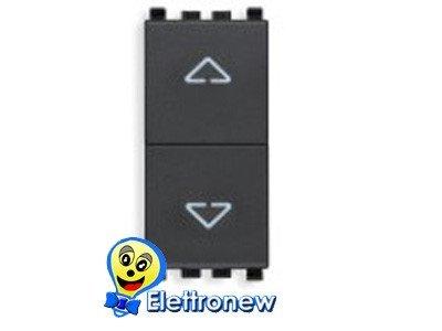 VIMAR EIKON–Serie Switch 2-polig 10AX Grau