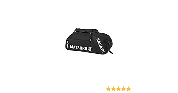 904168e179 MATSURU Sac de Sport Karate Tissu Noir: Amazon.fr: Sports et Loisirs