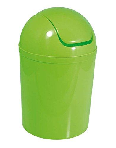 Carpemodo Kosmetikeimer mit Schwingdeckel 5,5 l Volumen Grün
