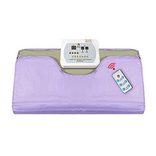 MZBZYU Sauna Decke, Far-Infrared Sauna Abnehmen Decke,Detox-Therapie Anti Aging Beauty Machine für Linderung von körperlicher Müdigkeit mit Controller und Fernbedienung