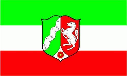 Flagge 90 x 150 : Nordrhein-Westfalen NRW