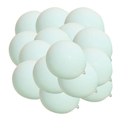 Skareop 20 stücke Konfetti Ballon Dekoration Lieferungen für Cumoleaños Hochzeiten Partys (Tiffany blau) (Party Dekoration Tiffany Blau)