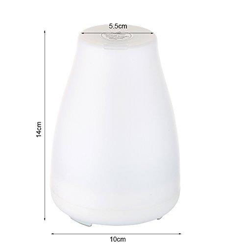 31%2BJVxSIOtL. SS500  - willkey Ultrasonic Aroma Diffuser Air Humidifier, White, 20cm12cm12cm