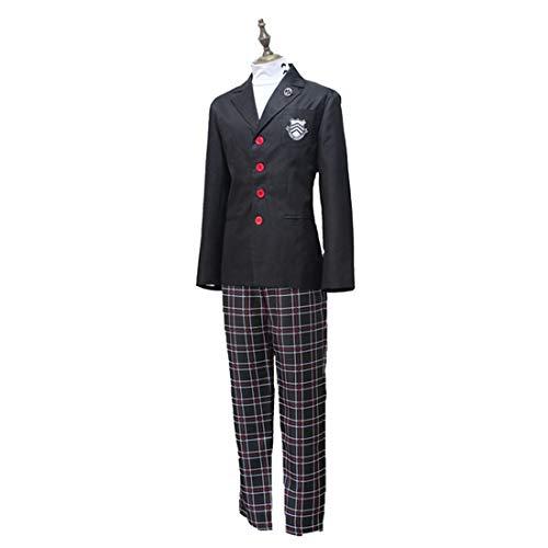 YKJ Anime Cosplay Kostüm Herren High School Uniform Halloween Party Cosplay Kostüm Jungen Set,Suit-XL (High School Junge Kostüm)