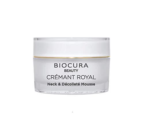 BIOCURA Beauty CREMANT ROYAL Neck & Decollete Mousse ANTI AGING mit QT 40 50 ml