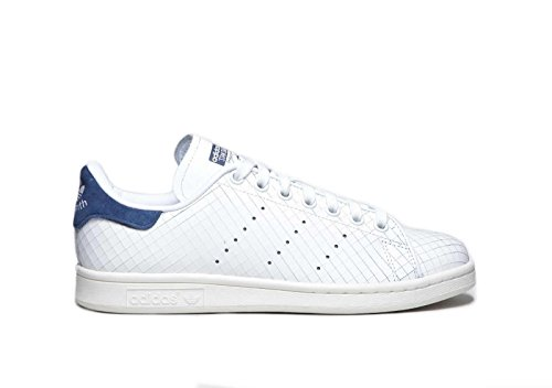 Adidas Womens Stan Smith Leather Trainers White/navy