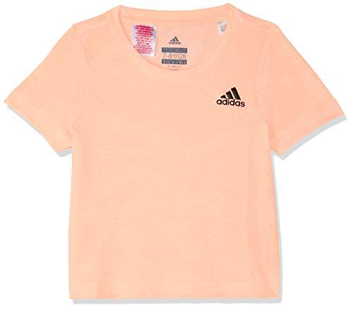 adidas Mädchen Training Aero Kurzarm T-Shirt Clear Orange 140 Preisvergleich