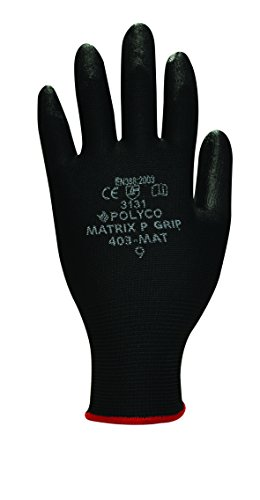 polyco-p-grip-small-close-fitting-glove-with-hard-wearing-polyurathane-coating-black