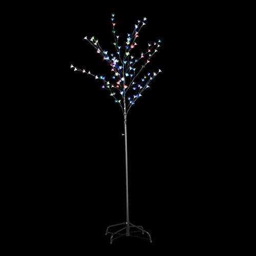 hobby e sport Albero Decorativo di Natale Luminoso a LED, 1,8 m,per Interni ed Esterni Luce Multicolore