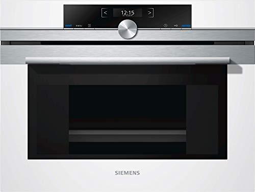Siemens iQ700 CD634GAW0 Dampfgarer / Dampfgaren-Funktion / TFT-Display / cookControl Plus für vollautomatisches Braten / Backofentür mit softMove / Halogen-Innenbeleuchtung