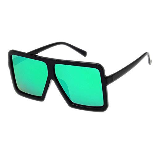 WERERT Sportbrille Sonnenbrillen Retro Big Frame Mirror Cat Eye Sunglasses Women Designer Big Vintage Cheap Sun Glasses Female UV400