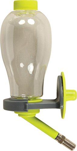 Biberon rongeur avec remplissage facile vert anis 500 ml (remplissage par le dessus)