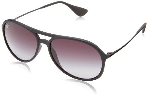 Ray Ban Unisex Sonnenbrille Alex Gestell: Schwarz, Gläser: Grau Verlauf 622/8G), Large (Herstellergröße: 59)