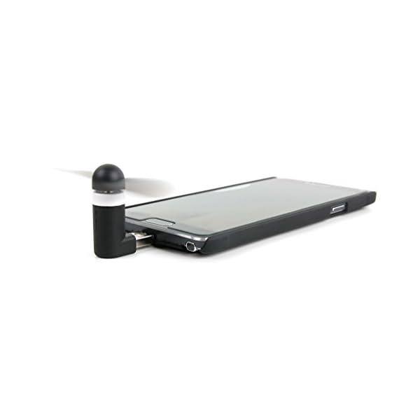 DURAGADGET-Mini-Ventilador-de-Bolsillo-alimentado-va-USB-y-Micro-USB-Para-Porttil-Asus-ROG-Zephyrus-GX501-Lenovo-Ideapad-110S-11IBR-T-BAO-R8