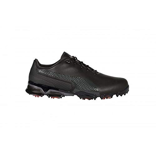 Puma Ignite PROADAPT, Scarpe da Golf Uomo, Black-Dark Shadow, 6 EU