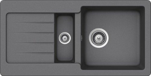Schock Küchenspüle Typos D-150S, Auflage in Croma