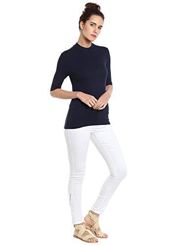 VERO MODA Damen T-Shirt Blau (Navy Blazer Navy Blazer)