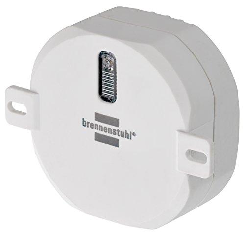 Brennenstuhl BrematicPRO Funk-Aktor EIN/AUS/Funk-Aktor-Unterputz (Smart Home Unterputz-Lichtschalter, steuerbar über App) weiß
