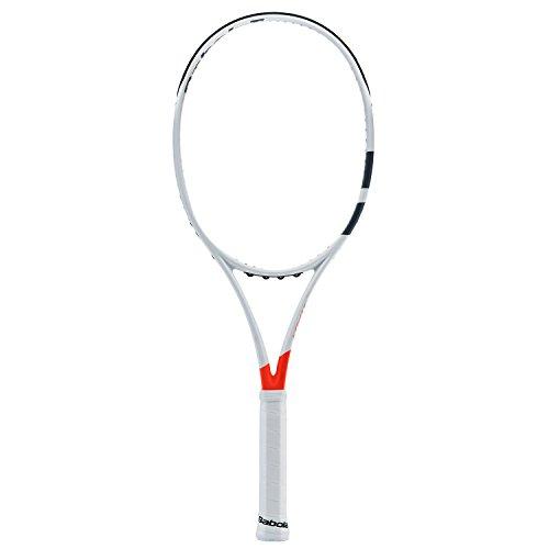 Babolat Pure Strike 100Unstrung Tennistasche, Herren 36 Weiß/Rot (Babolat-schläger)