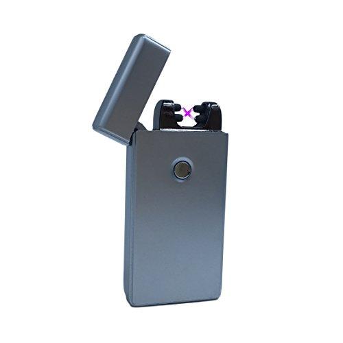 usb-feuerzeug-the-flame-elektronisches-feuerzeuge-aufladbar-lichtbogen-silber-matt