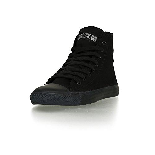 Ethletic Black Cap HiCut / High-Sneaker aus Bio-Baumwolle in schwarz – fair & nachhaltig - 2