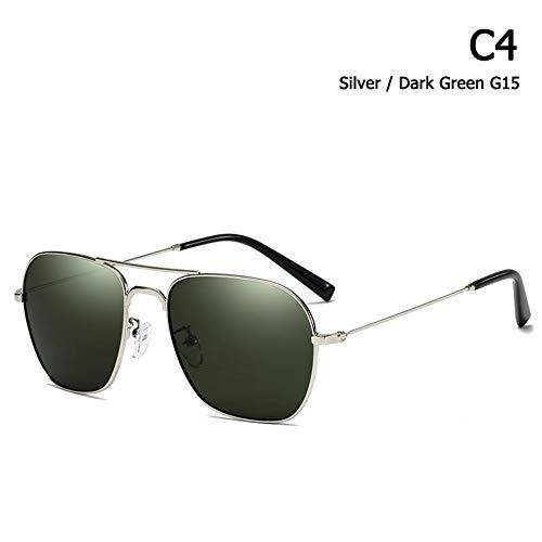 ZHOUYF Sonnenbrille Fahrerbrille Mode Vintage Caravan Luftfahrt Stil Sonnenbrille Klassische Männer Frauen Fahren Angeln Sonnenbrille Oculos De Sol, D