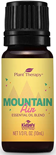 Plant Therapy Mountain Air Essential Oil Summer Blend 10 mL (1/3 oz) 100% Pure, Undiluted, Therapeutic Grade