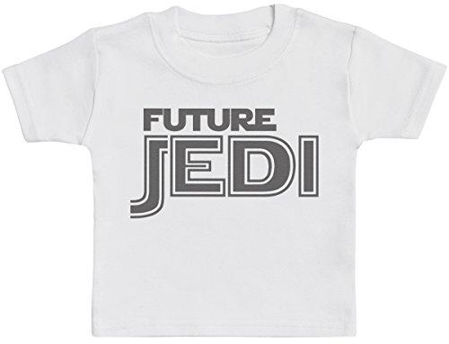 Future Jedi T-Shirts Bébé, Bébé Haut, Bébé garçon T-Shirts, Bébé Fille T-Shirts - 0-3 Mois Blanc