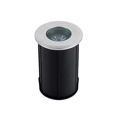 WXL LED Bodenenbauleuchte, Eingebettete Kreisförmige Lichter LED-Scheinwerfer Im Freien Imprägniern IP68 Unterwasserlichtgartenlicht-Landschaftslichter (Color : Large -12V, Size : Warm Light) - Lampenschirme Kreisförmige