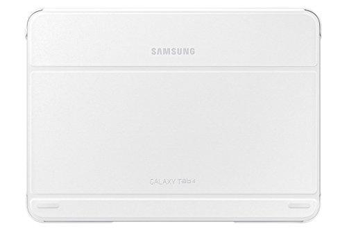 Zoll Cover Samsung 10 Tab 4 (Samsung Folio Schutzhülle Book Cover Case für Galaxy Tab 4 10.0 Zoll - Weiß)