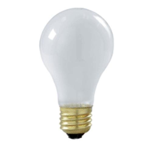 Frosted Satco-glühlampe (S392760W A19bruchsicherem Lampe–Boden–Frosted 130V 2/Pk)