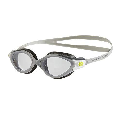 Speedo Damen Futura Biofuse Flexiseal Female Goggles, grau, One Size