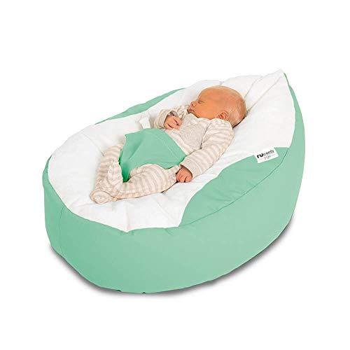 rucomfybeanbags Luxury Cuddle Soft Gaga Baby Sitzsäcke (Duck Egg)