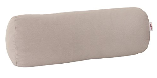 beties Wunschton Nackenrollen Bezug ca. 15x40 cm in großer Sortiments- und Größenauswahl für In & Outdoor (Taupe)